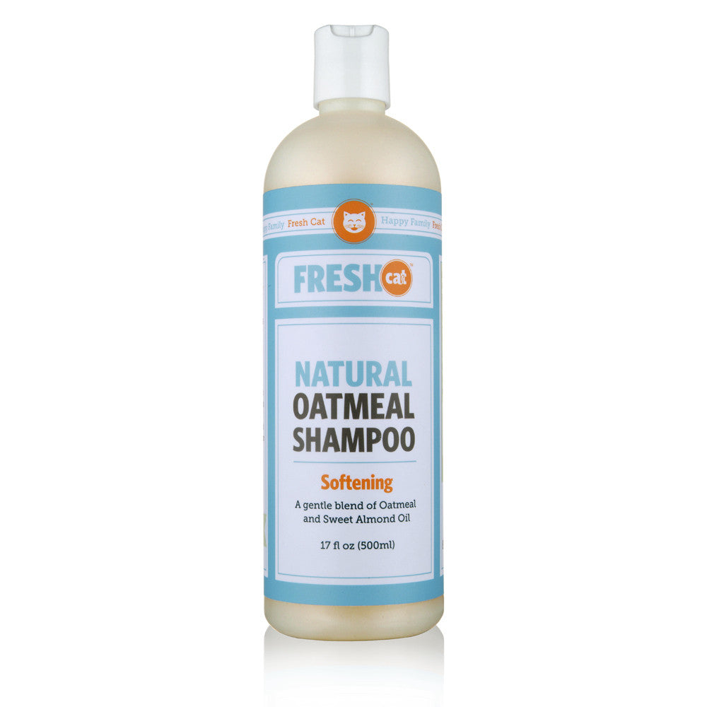 Fresh Cat Softening Shampoo with Natural Colloidal Oatmeal (17 oz.)