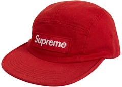 Supreme Military Camp Cap (SS19)- Red