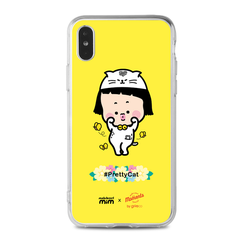 Mobile Girl MiM Clear Case (PC-MM008C)