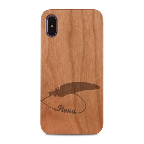 Custom - Wooden Case (Engraved) W29