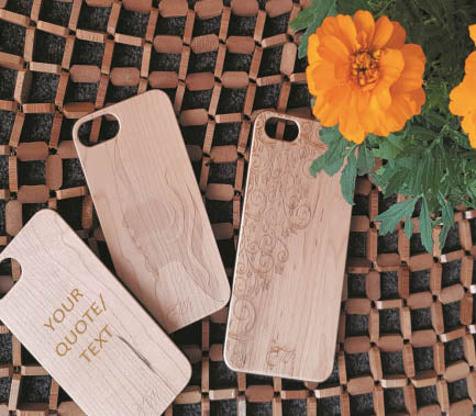 iPhone 5 / 5S/SE Wooden case