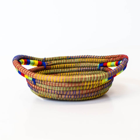 Multi-color Mini Pine Needle Basket