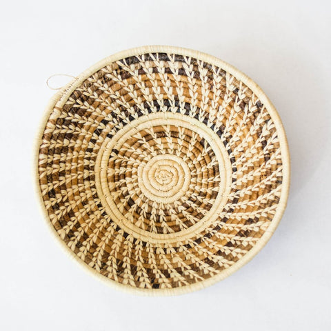 Natural Brown Grass-woven Basket