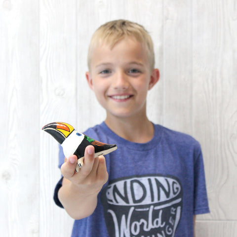 Hand-Painted Bird Whistle