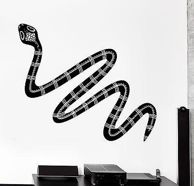 Wall Decal Snake Totem Animal Ornament Cool Mural Vinyl Decal Unique Gift (z3155)
