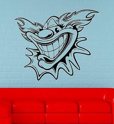 Wall Sticker Vinyl Decal Circus Clown for Kids Room Decor Positive Unique Gift (ig1873)