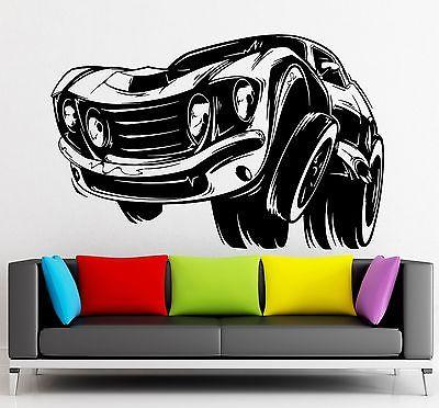 Wall Sticker Vinyl Decal Muscle Car Sports Race Garage Decor Unique Gift (ig2150)