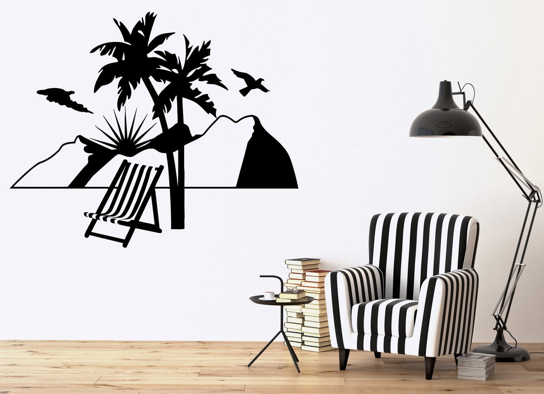 Vacations Wall Stickers Relax Beach Travel Agency Mountains Vinyl Decal Unique Gift (ig2388)
