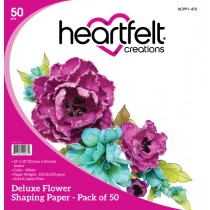Heartfelt Creations - Deluxe flower-making paper - 50-pack