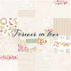 Forever in love paper pack 12x12