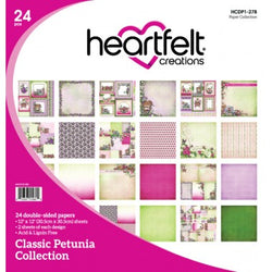 Heartfelt Creations paper collection - Classic petunia