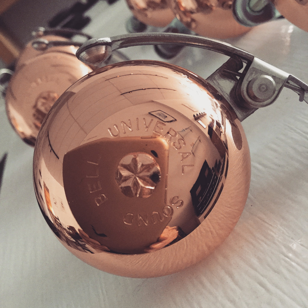Copper Bicycle Bell