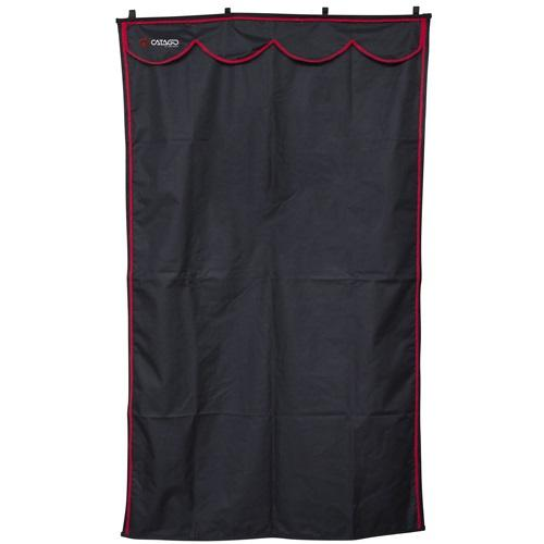 Catago Stable Drape / Curtain - Black - Divine Equestrian