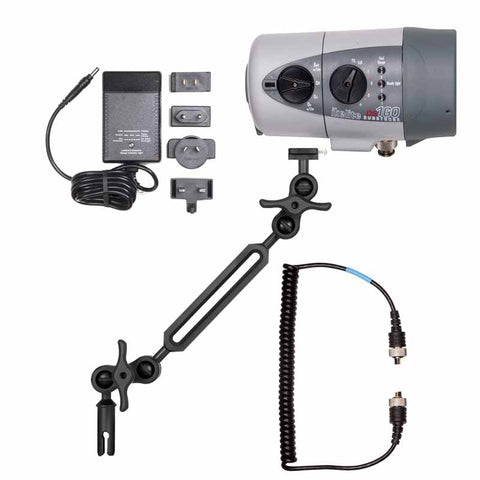 Ikelite DS160 Strobe Kit with Sync Cord, NiMH Battery and Ball Arm Mark II - Underwater - Ikelite - Helix Camera