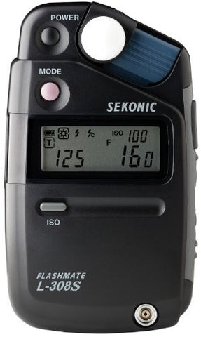 Sekonic L-308s Light Meter - Black - Lighting-Studio - Sekonic - Helix Camera