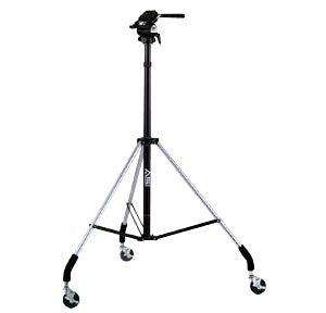 Smith-Victor Dollypod III - Wheeled Tripod with Titan Head