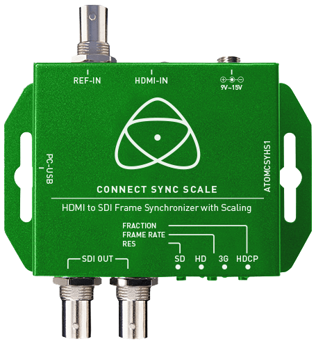Atomos Connect Sync Scale | HDMI to SDI