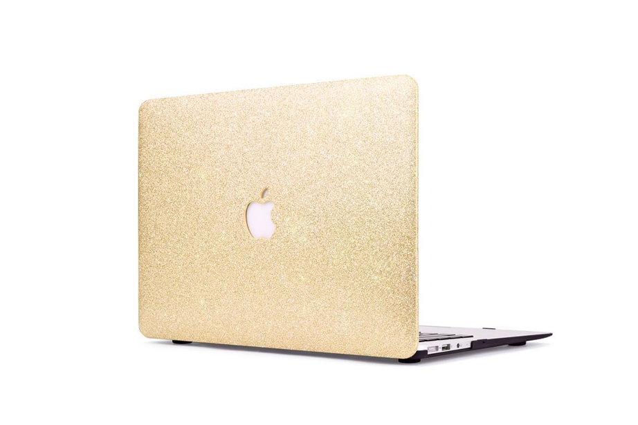 Gold Glitter Macbook Protective Case