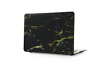 Black & Gold Marble Macbook Protective Case
