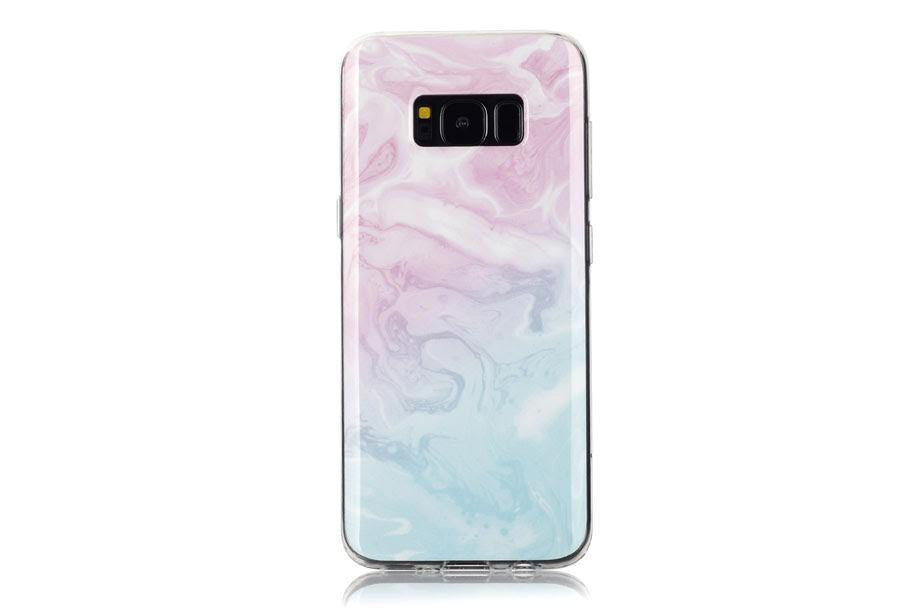 Cotton Candy Marble Samsung Phone Case