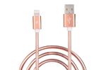 Rose Gold Metallic Charge & Sync Cable