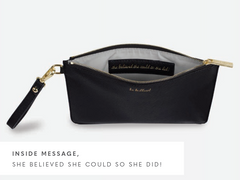SECRET MESSAGE POUCH - BE BRILLIANT