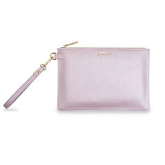 SECRET MESSAGE POUCH- LILAC