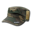 Military Clothing Reversible Camo Flat Top Caps