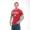 U.S. USMC Men`s Highlight Layered Tee