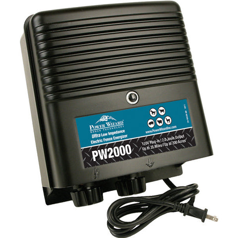 Power Wizard PW2000 Fence Energizer