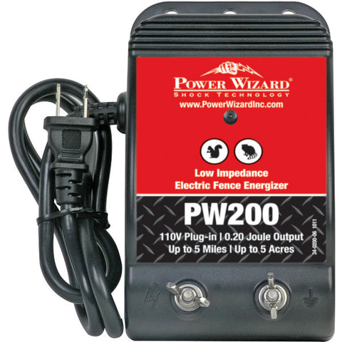 Power Wizard PW200 Fence Energizer