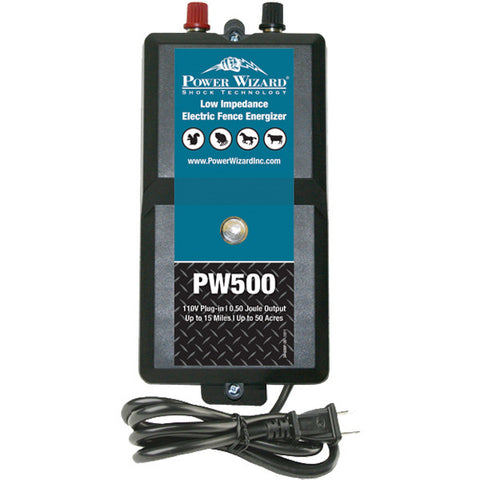 Power Wizard PW500 Fence Energizer