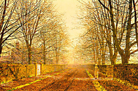 John Atkinson Grimshaw-Golden Light 1893