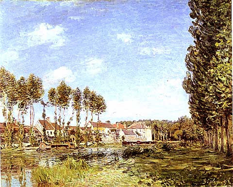 Alfred Sisley-Banks Of The Loing