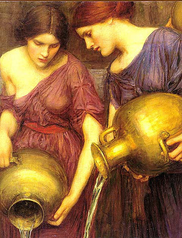 John William Waterhouse-The Danaides (Detail)