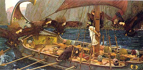 John William Waterhouse-Ulysses And The Sirens