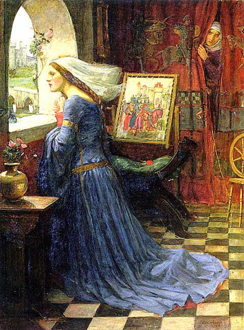 John William Waterhouse-Fair Rosamund