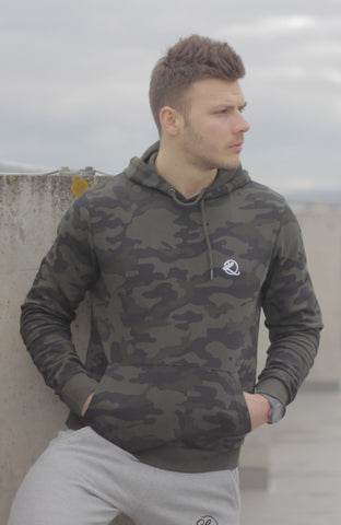 Lombordy Pullover Camo Hoodie