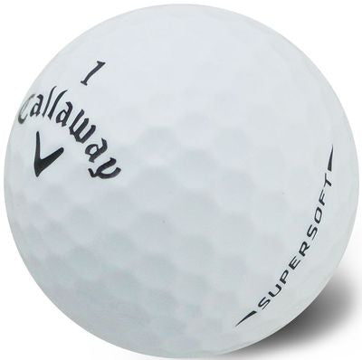 Callaway SuperSoft White