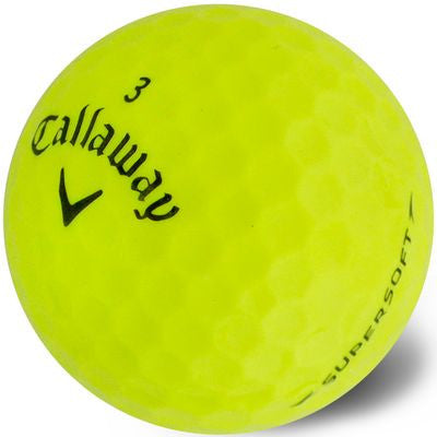 Callaway SuperSoft Yellow