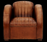 "Vintage style ""Club"" accent chair"