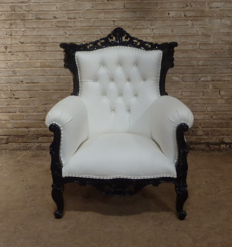 French Style Quot Rococco Quot Accent Chair Jack Horner Interiors