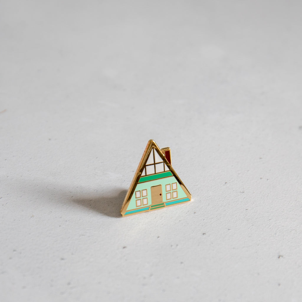 A-Frame House Pin - Finest Imaginary