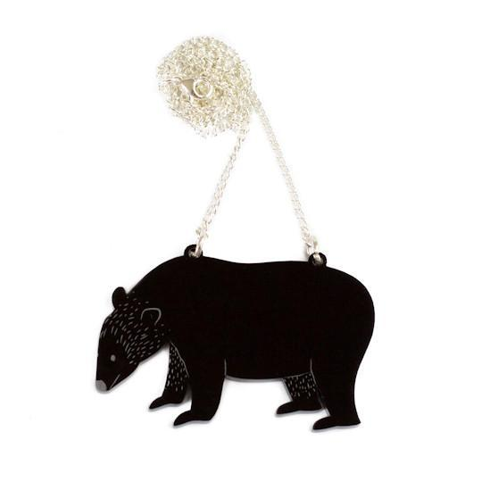 Bear Necklace - Finest Imaginary
