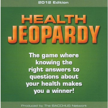 Health Jeopardy
