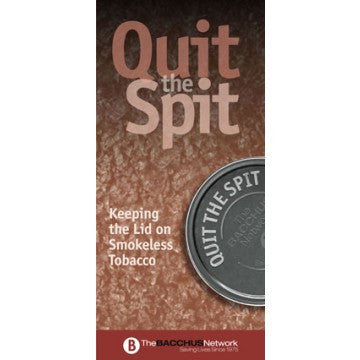 Quit the Spit Pamphlet