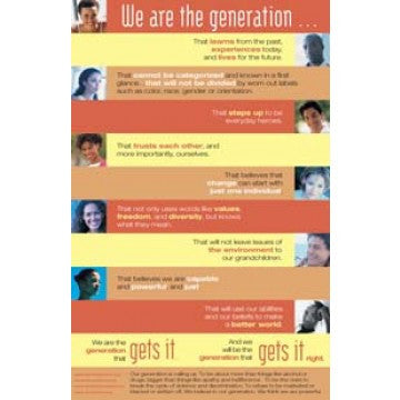 We Are the Generation