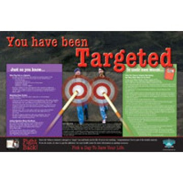 "You Have Been Targeted Bulletin Board (23"" x 35"")"