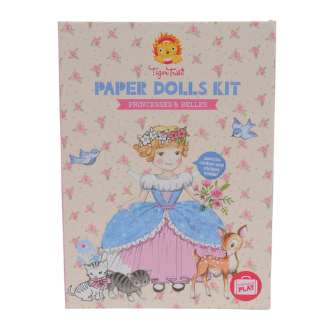 Tiger Tribe  Paper Dolls Kit - Princess and Belles