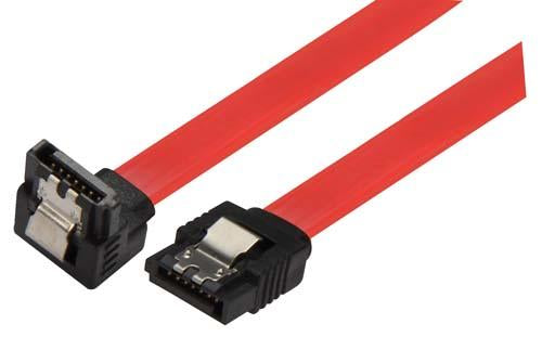 Cable latching-sata-cable-straight-right-angle-24